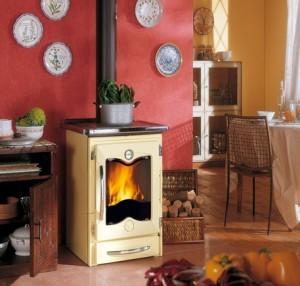 Cucine a legna Nordica Mod.Cucinotta