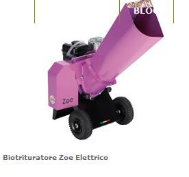 Biotrituratore AGRINOVA Mod.Zoe Elettrico