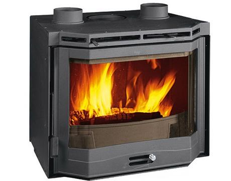 Inserto a legna Nordica 70 Ventilato Prismatico