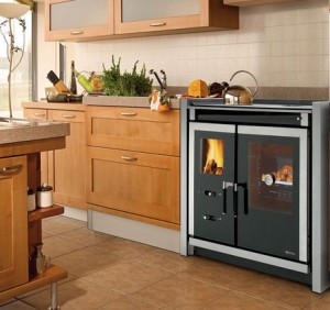 Cucine a legna Nordica Mod.Italy Built-In